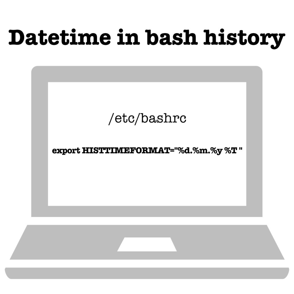 Best practice: Add datetime to bash history entries