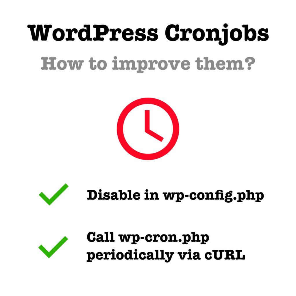 WordPress Crons als Linux Cronjob einrichten